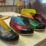 muestro de calzado echo en el taller